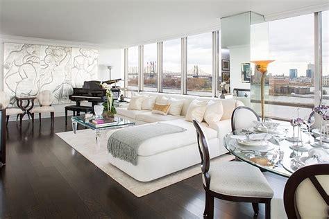 glamourous art deco apartment  manhattan  york