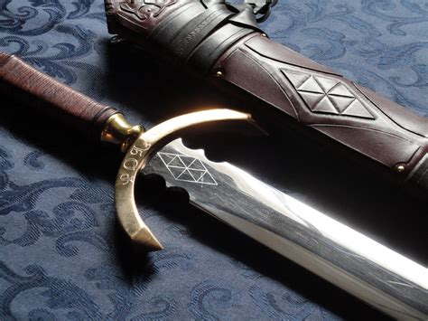 Handcrafted Swords - dbk custom swords handmade historical custom scabbards