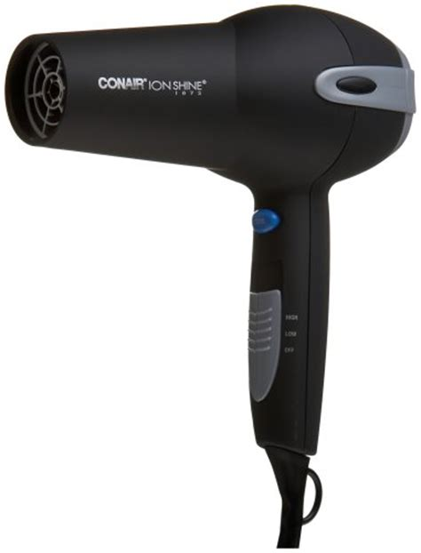 Hair Dryer Watt Rendah conair 225r comfort touch tourmaline ceramic 1875 watt