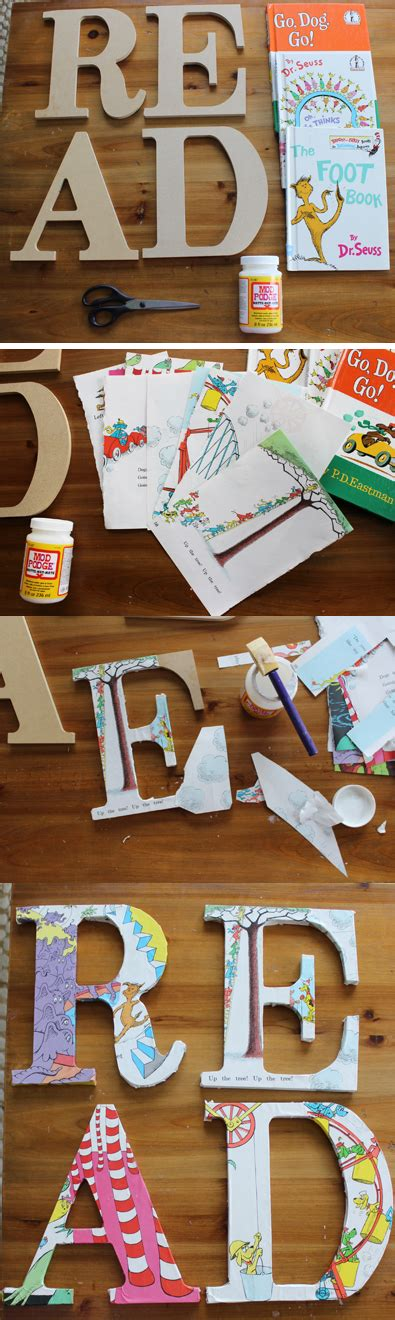 easy craft to decorate your child s book nook take