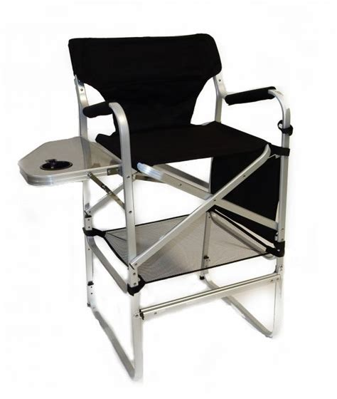 directors chair with table deluxe director chair w side table and cup holder