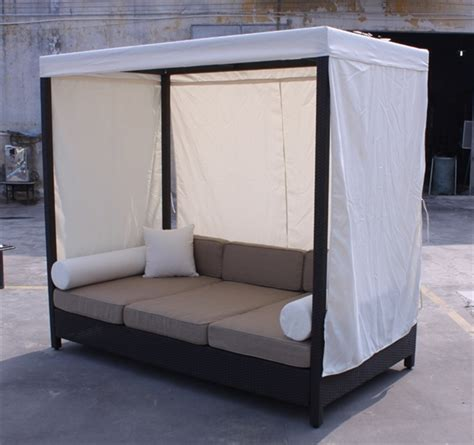 outdoor sofa daybed 15 inspirations of outdoor sofas with canopy