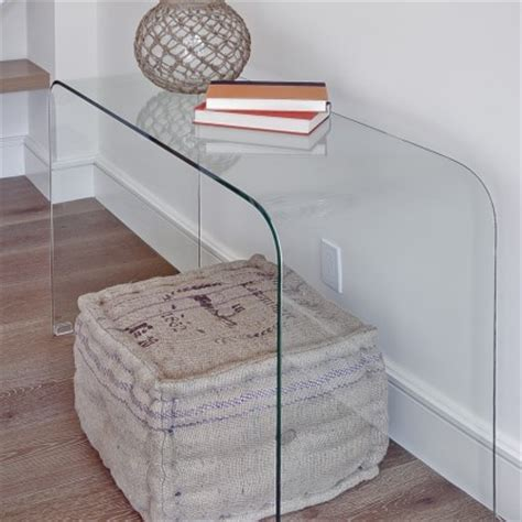 Ghost Console Table Glass Ghost Console Console Tables San Francisco By Mack