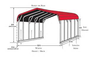 Metal Carport Sizes Carport Colors Sizes And Information