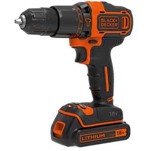 black decker tools black decker 18v hammer drill bdchd18