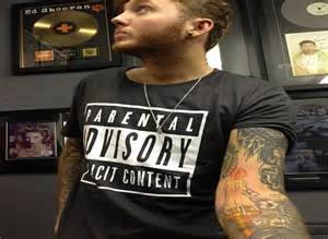 tattoo lyrics james arthur james arthur adds to his tattoo collection with an inking