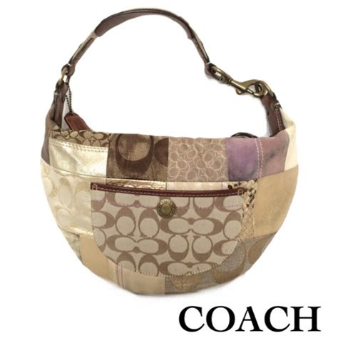 Patchwork Coach Bag - coach authentic coach 10019 patchwork hobo bag from