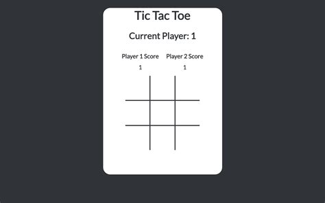 tic tac toe project template 100 tic tac toe template html javascript