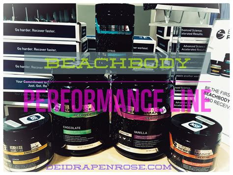 lost five 0 energy drink deidra penrose beachbody performance line new line of