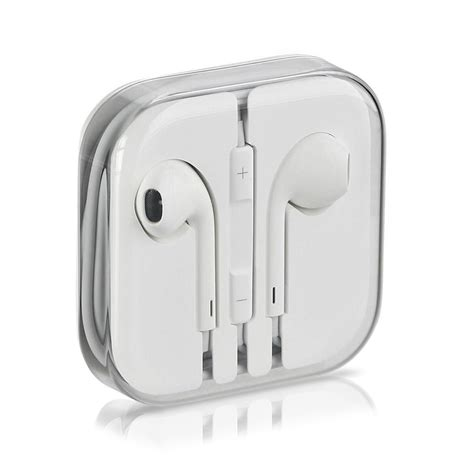 Headset Apple Iphone 5 genuine apple iphone 5 5s headphone earpods earbuds earphones with mic ebay