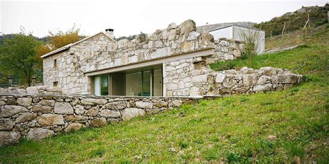 Portugal Minimalist 1 Tx portuguese ruins rise anew as a minimalist home brandao costa architects renovated