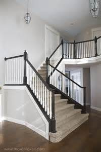 best 25 black banister ideas on staircase