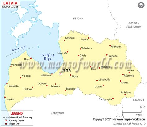 map of and surrounding cities latvia cities map major cities in latvia