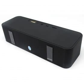 Speaker Bluetooth Semarang speaker bluetooth portabel stereo bass lc 209 black jakartanotebook