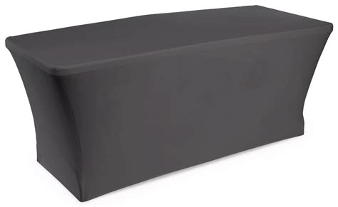 table cover black plain stretch table cover 6