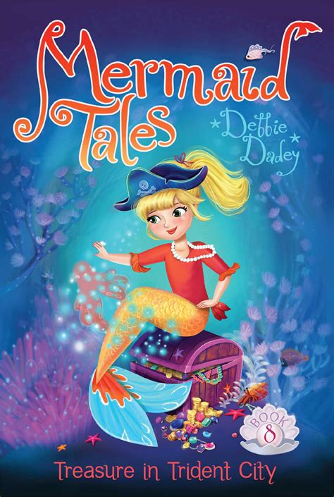 Books Vs Looks Mermaid Tales treasure in trident city book by debbie dadey tatevik