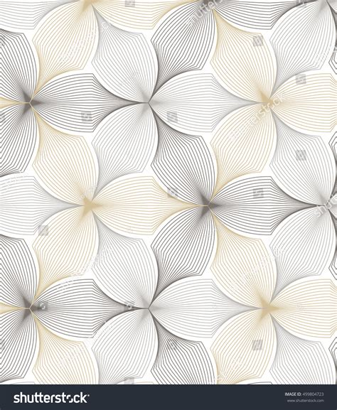 floral pattern repeat vector flower pattern vector repeating linear petal stock vector