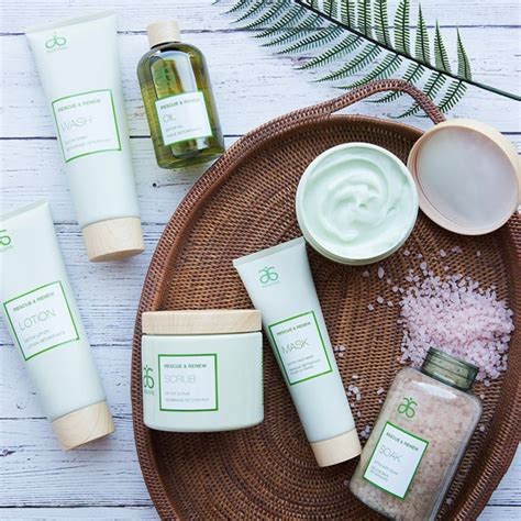 Arbonne Seasource Detox Spa Rescue Wash by New Aromatherapeutic Skincare Collection From Arbonne