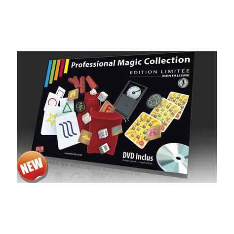 Professional Magic professional magic collection mentalisme au tapis vert
