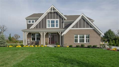 the blair floorplan by fischer homes model home in