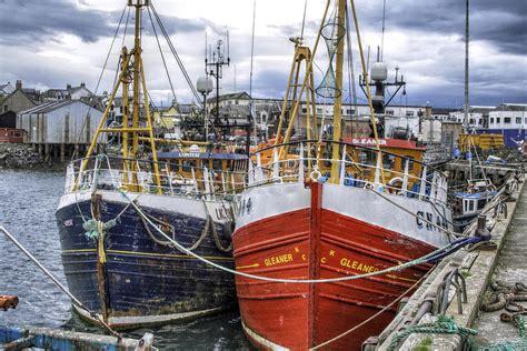 fishing boat for sale scotland fishing boats of mallaig scotland photograph by jason politte