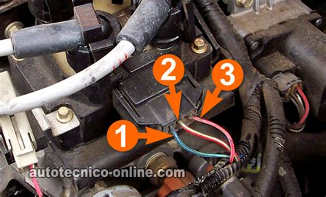 parte  como probar la bobina de encendido dis ford