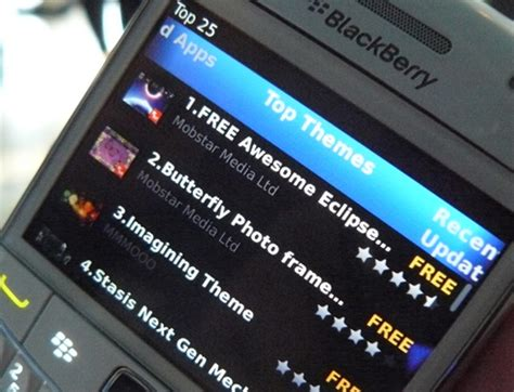 blackberry themes app world blackberry app world 2 0 unveiled images details cio