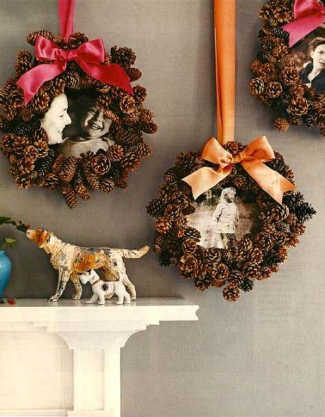 diy corona de pinas de pinosjpg coronas de adviento hechas con pi 241 as decoracion in