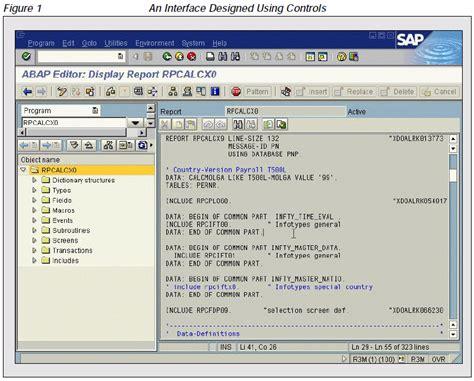 layout editor abap sap controls technology part 1