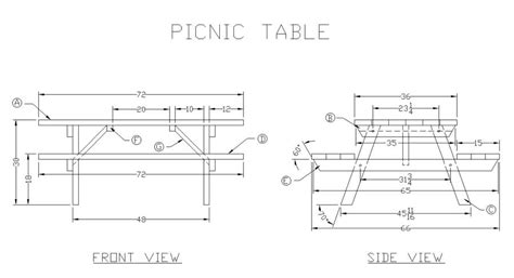 picnic bench dimensions 21 wooden picnic tables plans and instructions guide