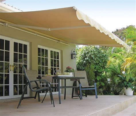 retractable awnings for decks 12 ft sunsetter motorized retractable awning outdoor deck