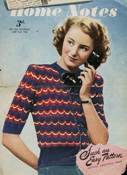 retro jumper knitting patterns the vintage pattern files 1940 s knitting your victory