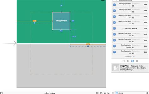 auto layout resize view ios how to make a square view resize with its superview