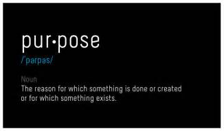 the purpose of your brand