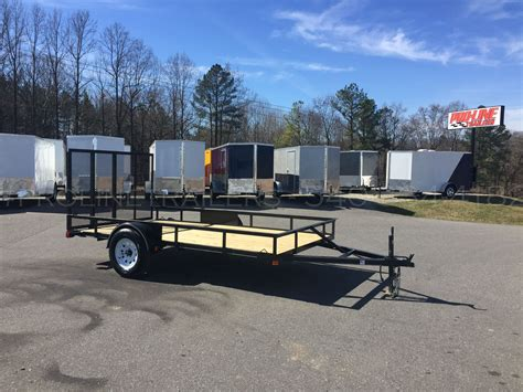 6 5x12 landscaping utility trailer pro line trailers