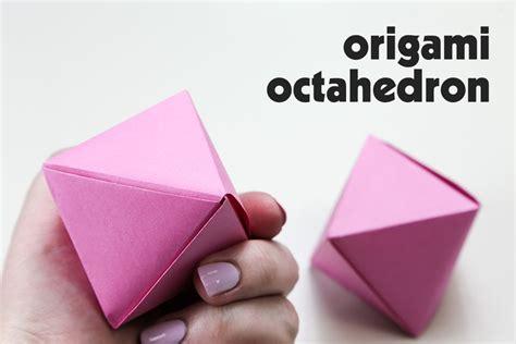 Octahedron Origami - origami octahedron