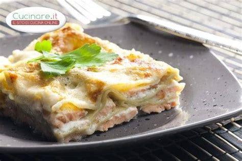 cucinare la lasagna lasagne con salmone e provola cucinare it