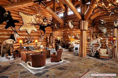 How To Decorate A Log Cabin Home by Log Home Decorating On A Truly Grand Scale