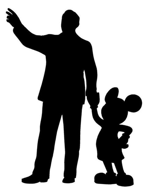 Luck You Mickey Dress walt disney and mickey statue silhouette decal