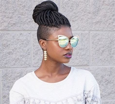 shaved braided hairstyles fade haircut box braids with shaved sides 6 stylish ways to rock the look