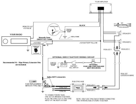speakers diagram how to install audio system
