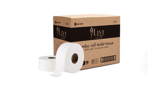 livi essentials jumbo toilet roll ply   hospeco australia