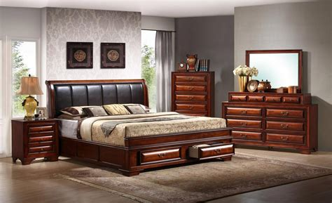 global furniture usa bedroom set antique oak gf