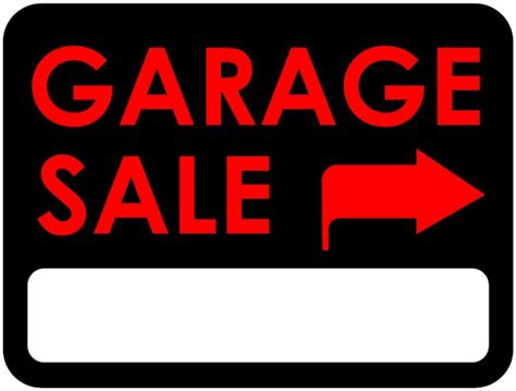 Garage Sales Signs What Should You Look For At Garage Sales Tough Cookie