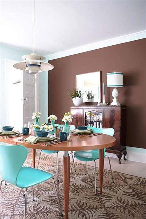 color  decoracion retro  el comedor decoracionin