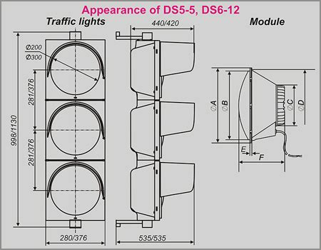 diode technical specification shvabe zurich gmbh ds5 5 ds6 12 road traffic lights