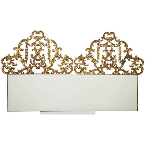 wall mounted headboards for sale gilt wall mounted king bed headboard for sale at 1stdibs