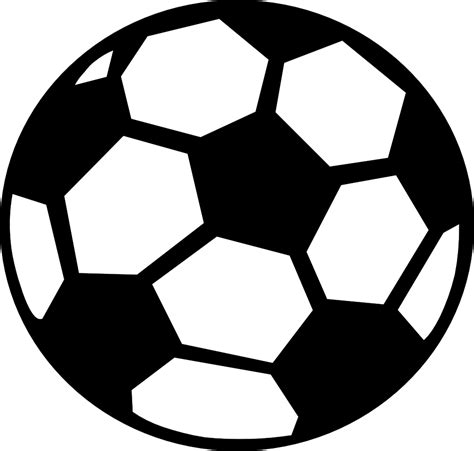 football ball silhouette vector soccer ball clip art free large images