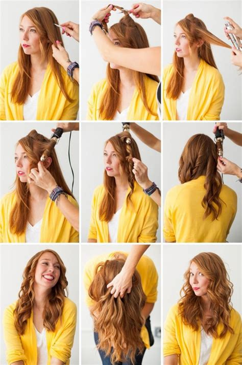 different ways to curl your hair with a wand 7 ways to make your hair curly with or without heat