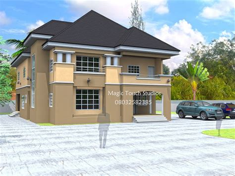 5 Bedroom Duplex Design 5 Bedroom Duplex Residential Homes And Designs